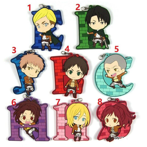 Keychains/Rubber strap phone charms