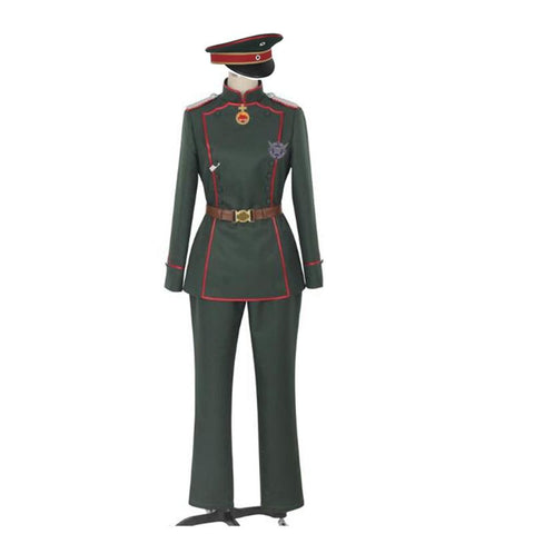 Tanya Degurechaff Cosplay Outfit (Men's And Women's Sizes Avaliable)