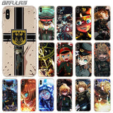 Youjo Senki IPhone Cases For IPhone 4, 5, 6, 6 Plus, 7, 7 Plus 8, 8 Plus, X, XS, XS Max