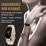 Lady Smart Watch - Heart Rate Monitor, Fitness Tracker  For Android / IOS