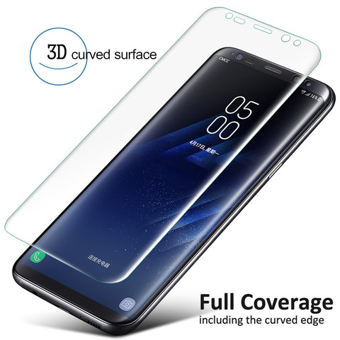Samsung Galaxy S9/+ S8/+    -  Screen Protector Soft Film Curved Full Cover