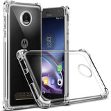 Slim Soft Case Clear Crystal  TPU Gel - For Motorola Moto G4 G5 G5s C E4 Plus Z Z2 Play