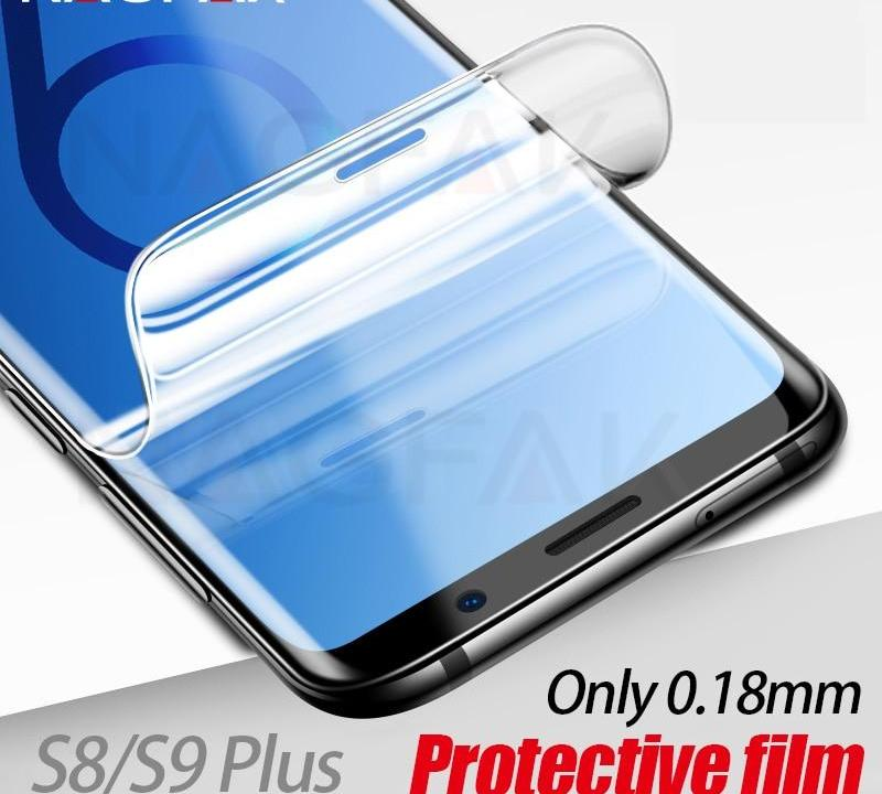 Samsung Galaxy S9 /+ , S8 /+ , Note 8, S7 Edge - Not Glass 0 18mm 3D Soft  S9 Protective film