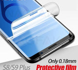 Samsung Galaxy S9 /+ , S8 /+ , Note 8, S7 Edge  -   Not Glass 0.18mm 3D Soft S9 Protective film