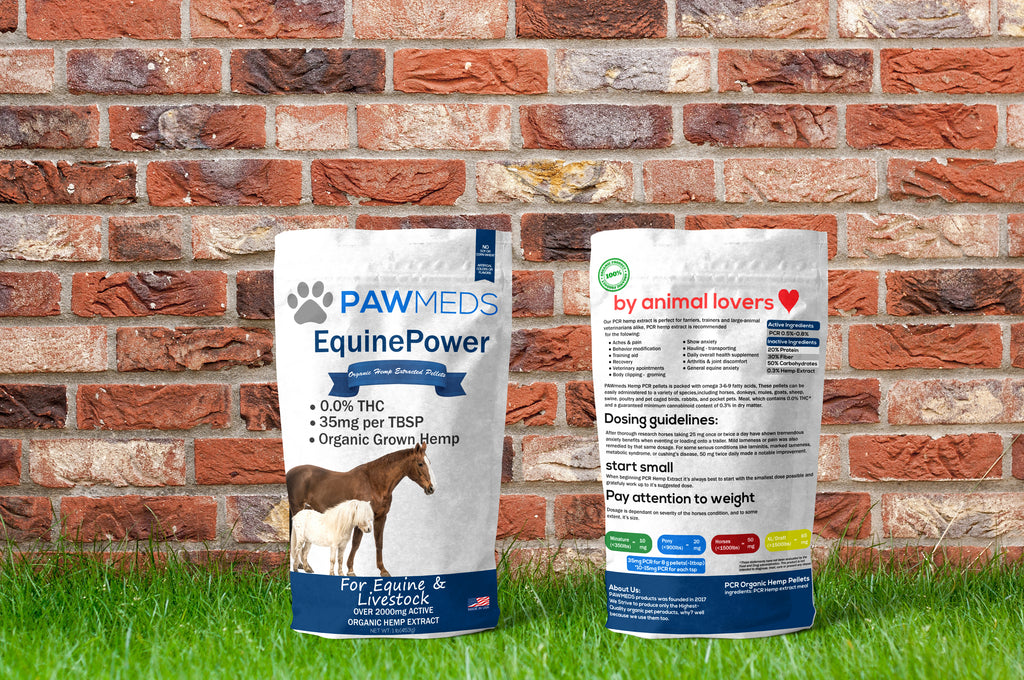 Hemp Pellets For Equine, Large and Small Ruminants, Avian & Pocket Pets