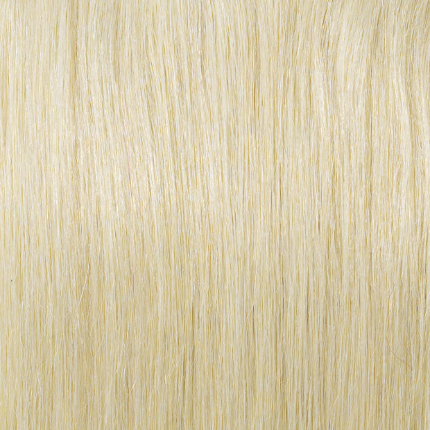 100% Human Hair Clip- in Extensions - #060 Platinum Blonde