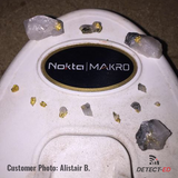 Nokta Makro Gold Kruzer finding gold nuggets