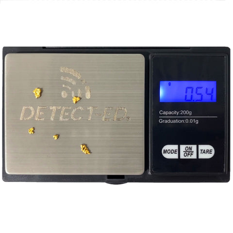 Detect-Ed Treasure Scales