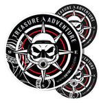 Detect-Ed | Metal Detecting Stickers | Treasure Adventure