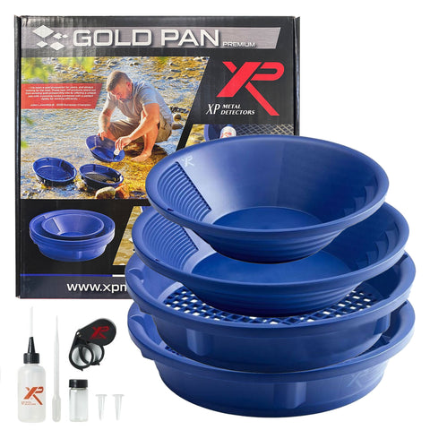 Gold Pan and sieve in Australia