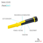 PulseDive Scuba Detector and Pin Pointer Yellow Metal Detector - Detect-Ed Australia