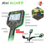 Kids Metal Detector | Mini Hoard by Nokta Makro | Waterproof kids metal detector | Treasure Hunting | Specs | Features | Ages 4 - 8
