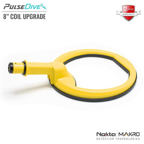 "Yellow PulseDive 8"" Big Coil Upgrade"