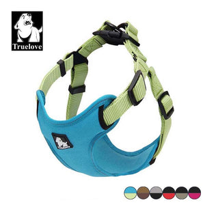 Padded Reflective Vest Style Step-In Dog Harness