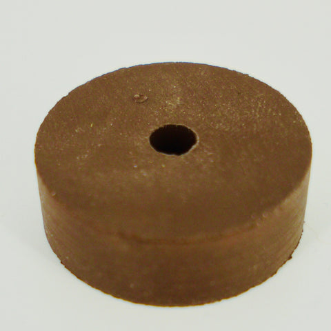 "1-1/2"" OD Brown Rebound Rubber"