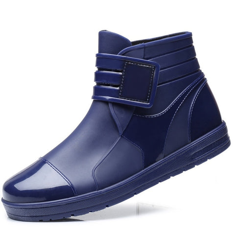 Short Rain Men Boots - LIONPEAKS