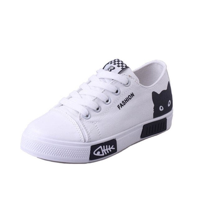 Superstar Lace-up Vulcanize shoes