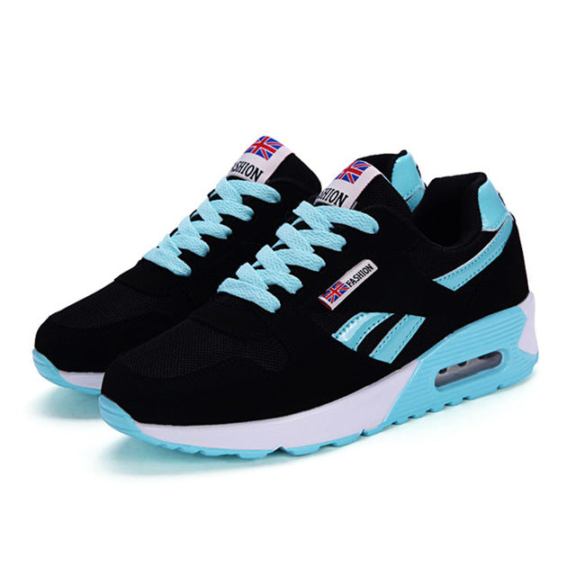 Running Lace Up Ladies Shoes