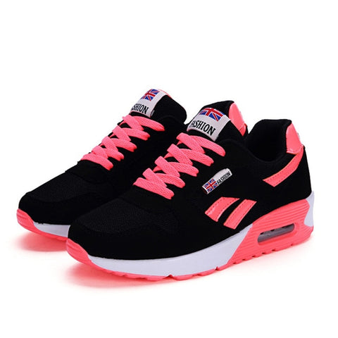 Running Lace Up Ladies Shoes - LIONPEAKS