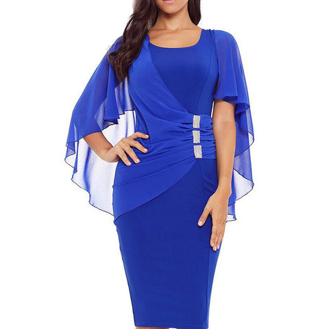 Women Plus Size Dress - LIONPEAKS