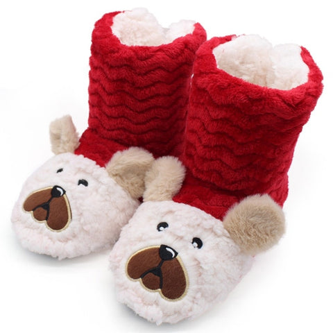Bear Cute Home Slippers - LIONPEAKS