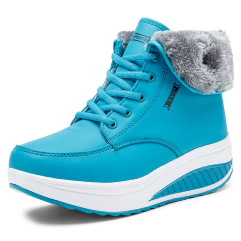 Fur Ankle Boots - LIONPEAKS