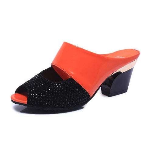 Stylish Open Toe Women Slip On - LIONPEAKS