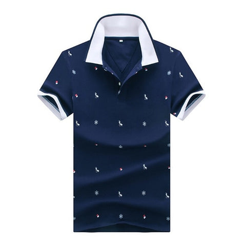 Men's Polo T- Shirt - LIONPEAKS