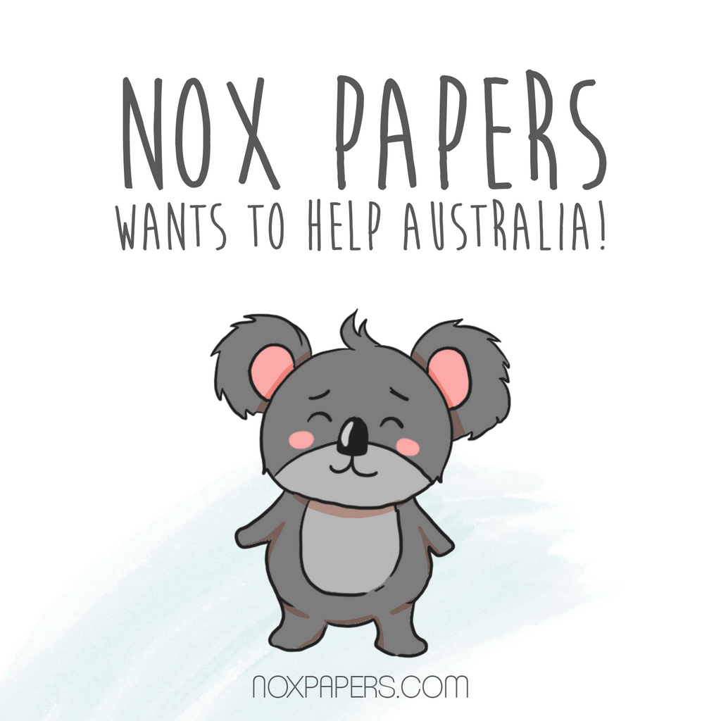 Nox Papers wants to help Australia!