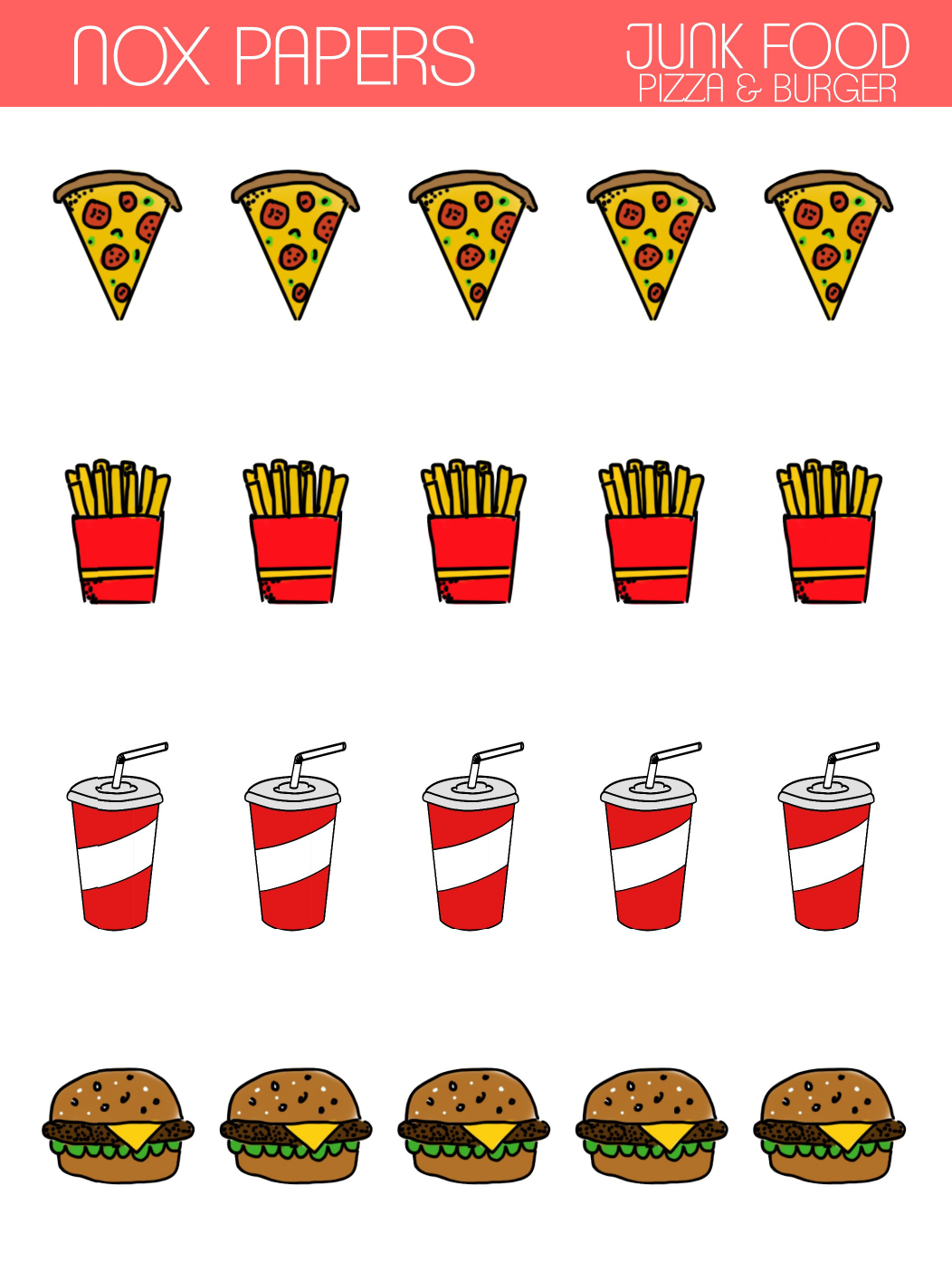 Junkfood (Pizza & Burger)