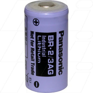 Panasonic BR2/3AG Lithium Battery