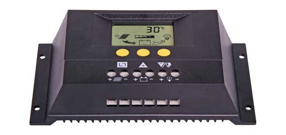 12/24V 30A Solar Charge Controller With LCD