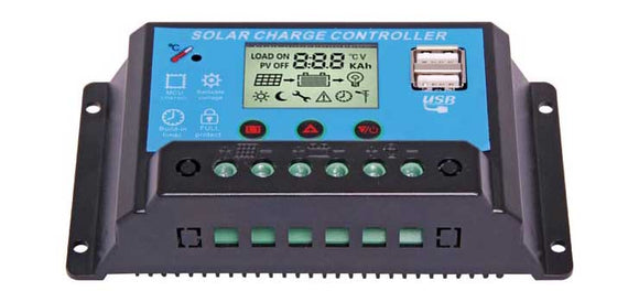 N2018 - 12/24V 20A Solar Charge Controller With USB