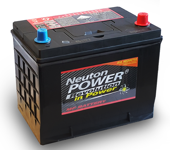 12V NEUTON POWER 80D26LX COMMERCIAL AUTOMOTIVE BATTERY 670CCA NS70LMF S80D26L