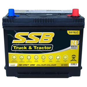 SS70LC High Performance Maintenance Free 4WD & Truck Battery