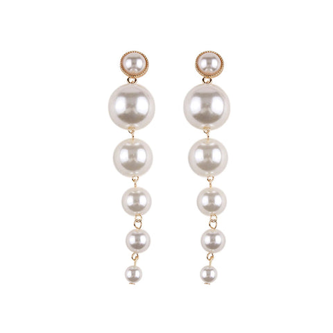 Angel Pearl Drop Earrings