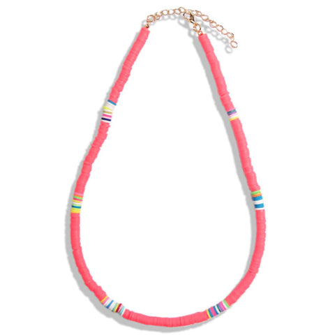 Astra Hot Pink Necklace