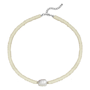 Aurelia Natural Freshwater Pearl Necklace