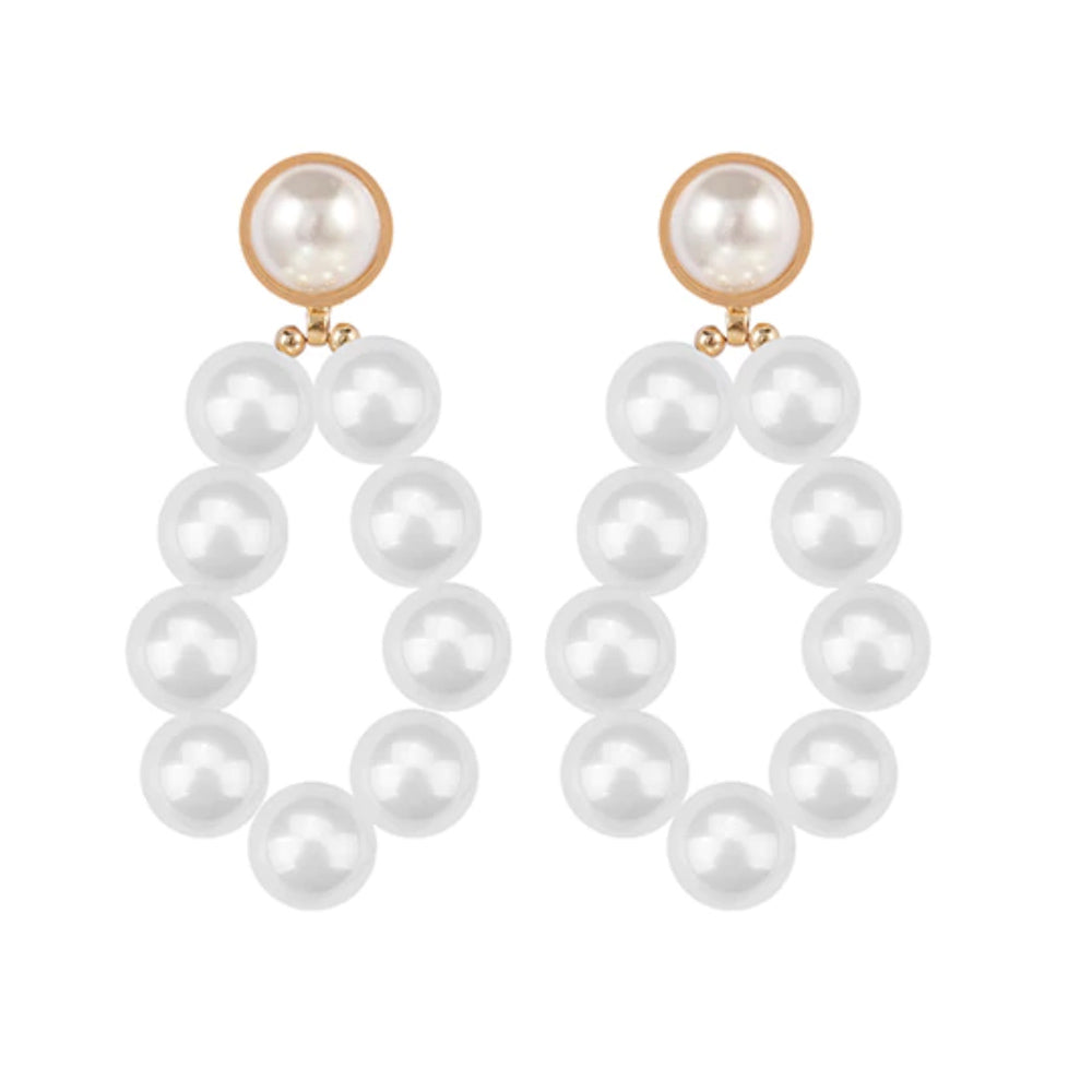 Ava Pearl Earrings