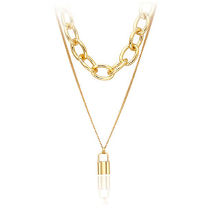 Billie Gold Layered Necklace