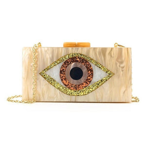 Evil Eye Evening Clutch
