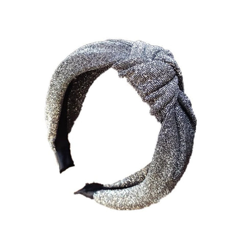 Grace Lurex Knotted Headband