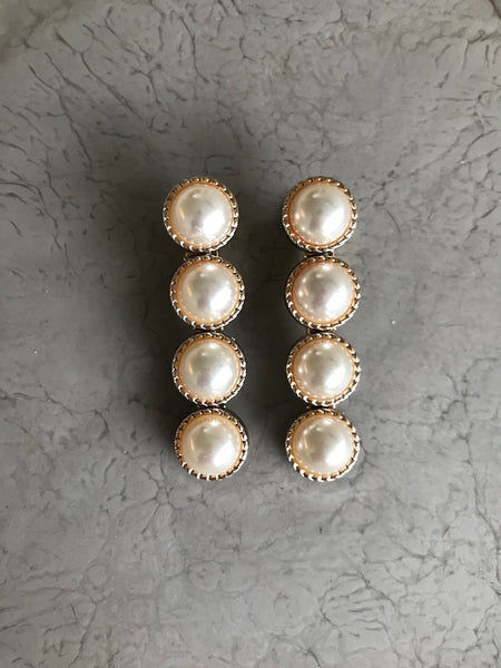 Tresor Pearl Hair Slides