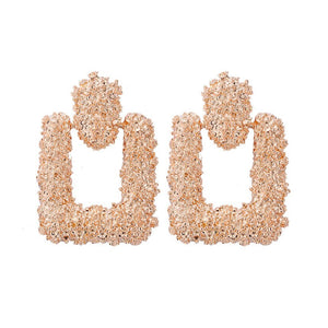 Kiki Rose Gold Earrings