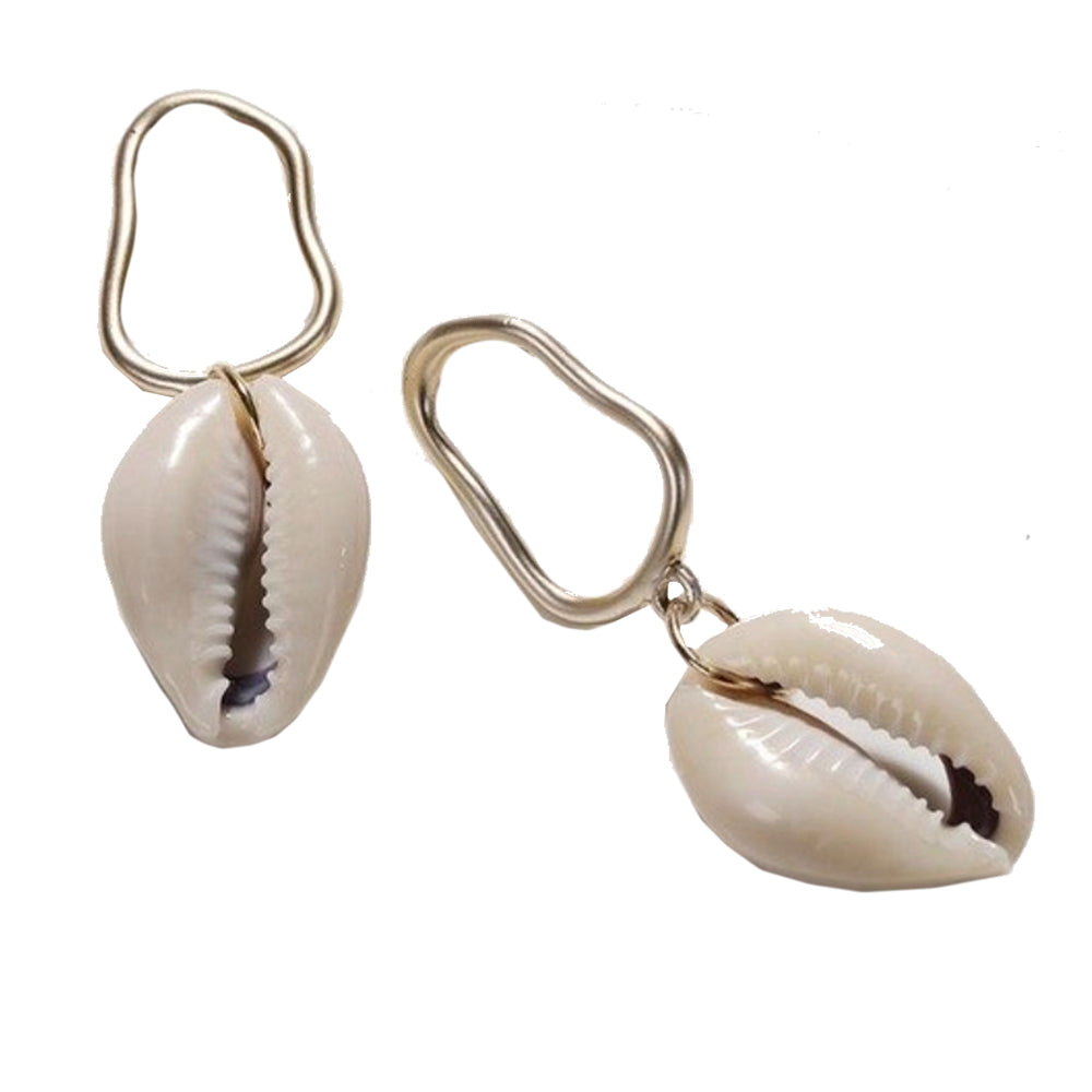 Micaela Shell Earrings