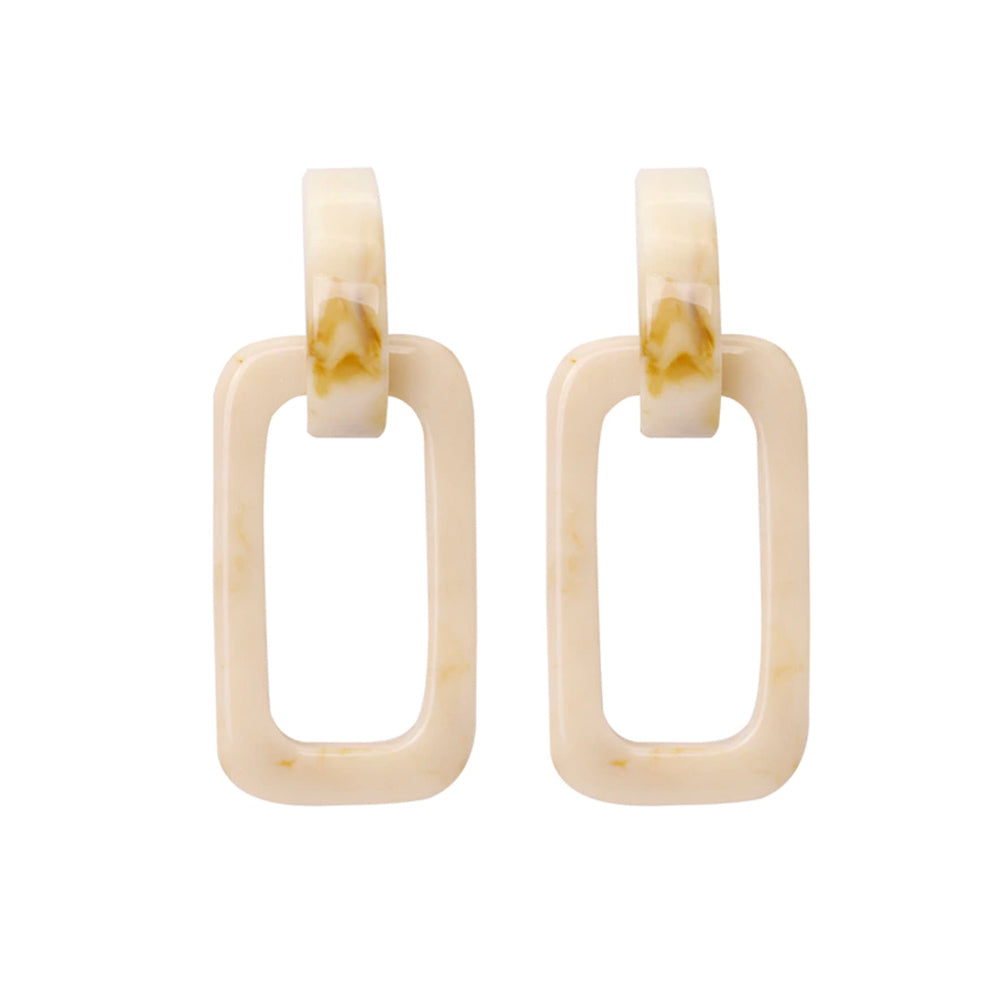 Morgan Natural Resin Earrings