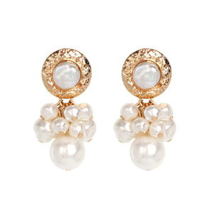 Romeo Gold Pearl Earrings