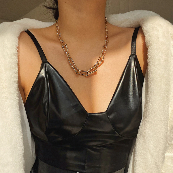 Seoul Gold Chain Necklace