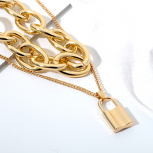Load image into Gallery viewer, Billie Gold Layered Necklace