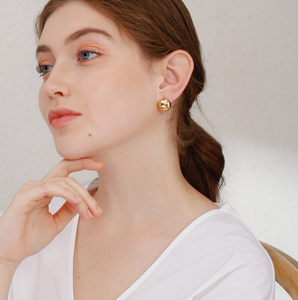 Dottie Gold Huggie Earrings